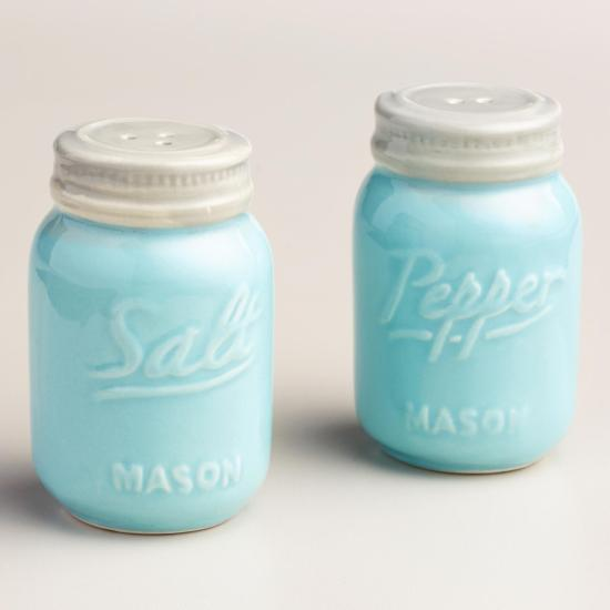 Mason Jar Salt & Pepper Shakers  Ultimate Gift Guide for Mason Jar Lovers   The Everyday Home