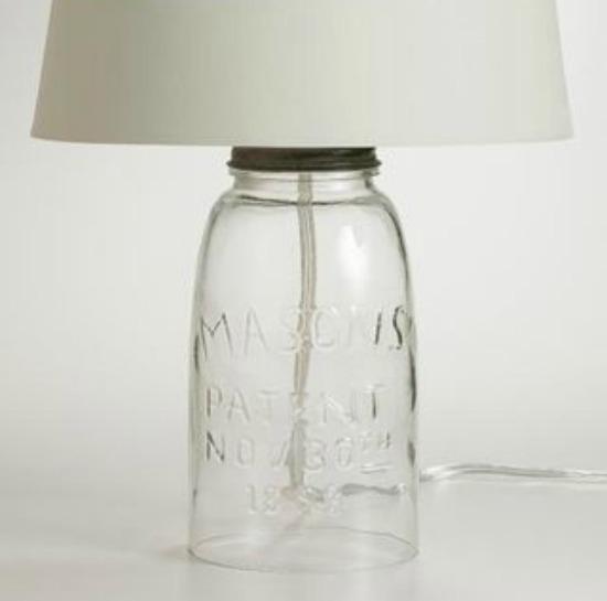 Mason Jar Lamp Base  Ultimate Gift Guide for Mason Jar Lovers   The Everyday Home