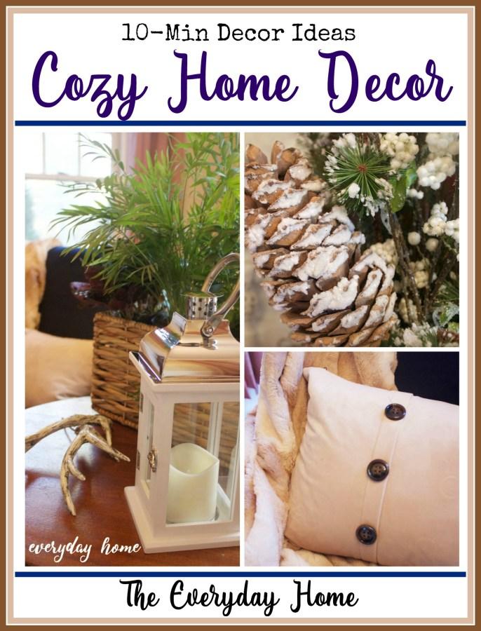 Cozy Home Decor Ideas   The Everyday Home Blog