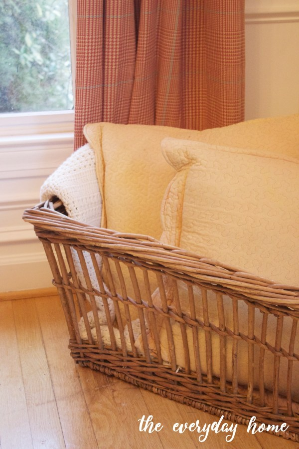 French Laundry Basket   The Everyday Home