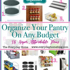 Kitchen Organization Products Delta Sink Faucets 15 Must Have Pantry Organizing Items The Everyday Home