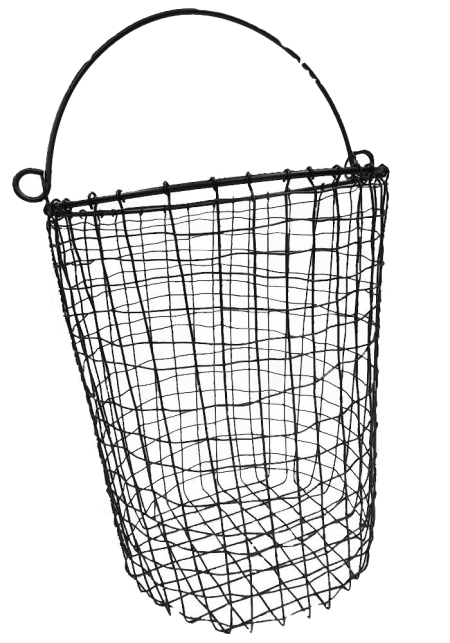 Oblong Wire Basket with Handle | The Everyday Home