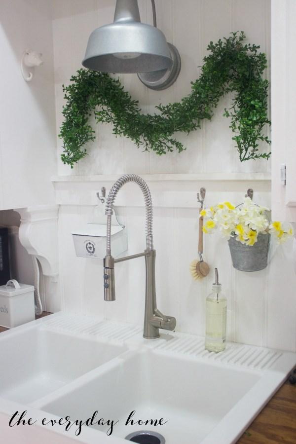Spring Kitchen Tour   Farmhouse Sink   The Everyday Home
