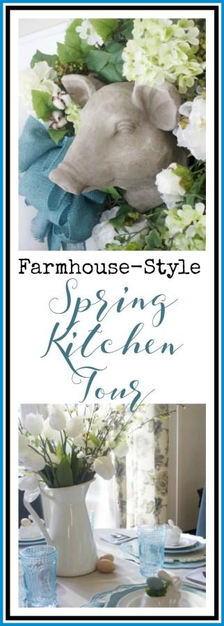 Spring Kitchen Tour   Farmhouse Style   The Everyday Home