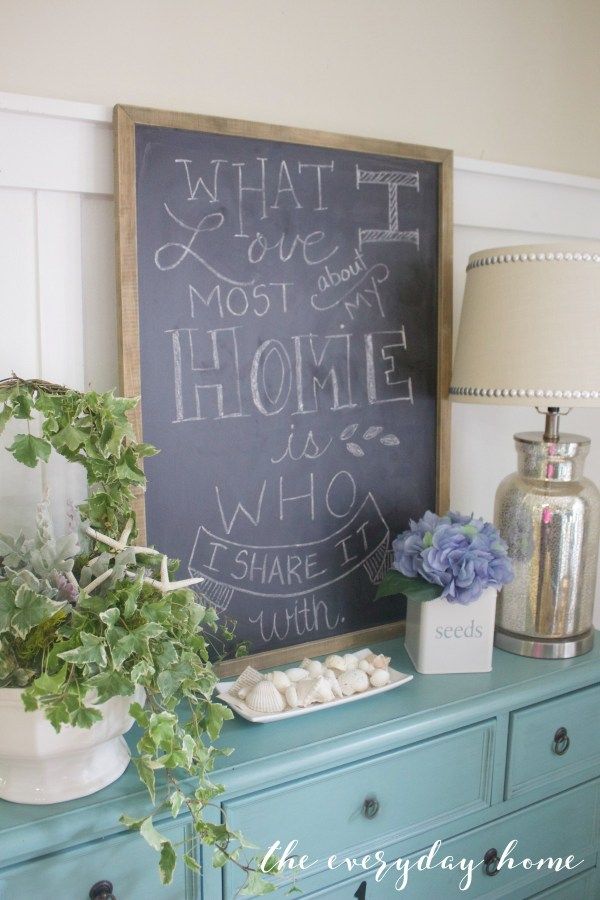 Home Chalkboard | The Everyday Home