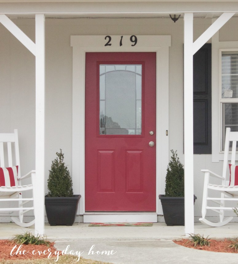Red Front Door | The Everyday Home