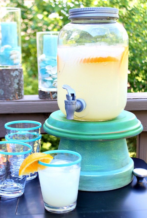 Make a Beverage Stand from Clay Pots