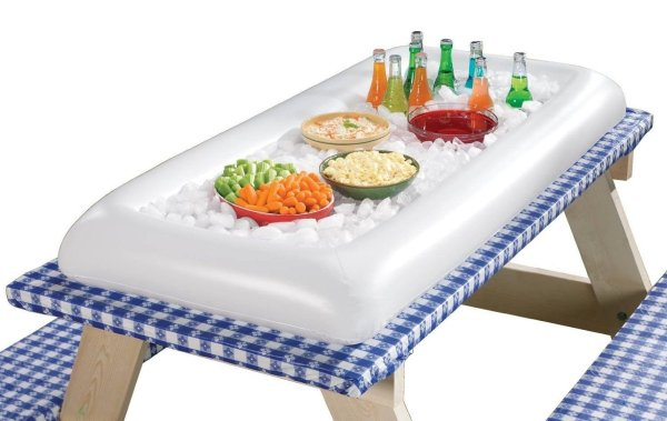 Inflatable Serving and Chilling Bar