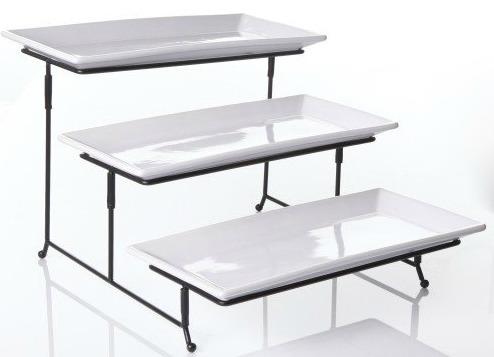 3-Tier Serving Stand & Platters