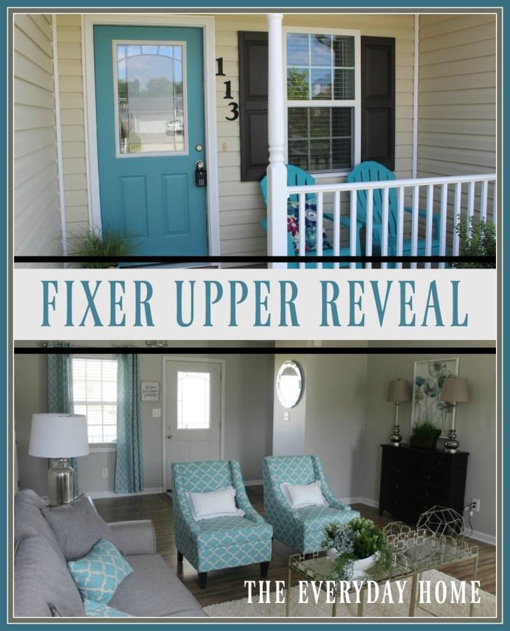 Fixer Upper Reveal | The Everyday Home | www.everydayhomeblog.com