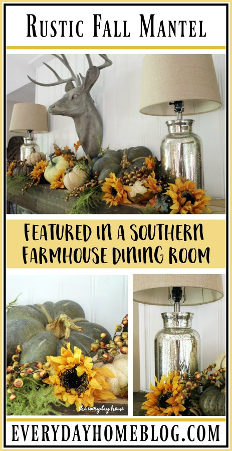 a-southern-farmhouse-rustic-fall-mantel | The Everyday Home | www.everydayhomeblog.com