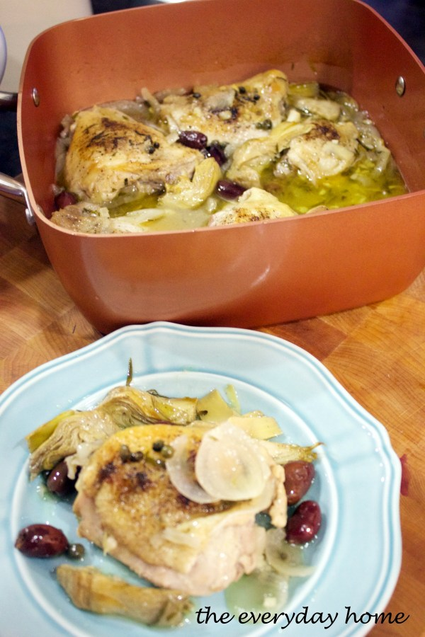 chicken-provencal-recipe | The Everyday Home | www.everydayhomeblog.com