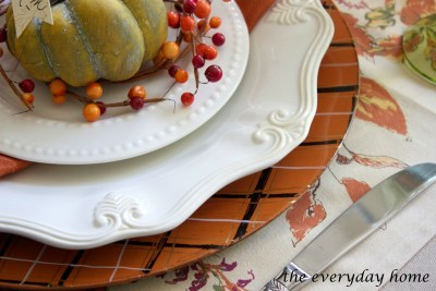 How to Make DIY Fall Plaid Chargers