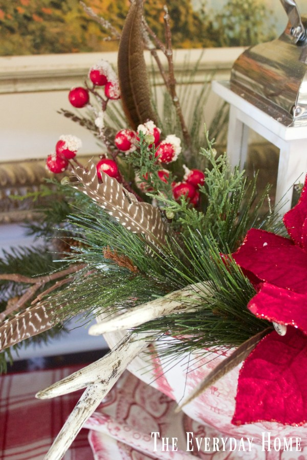 dining-room-buffet-for-christmas-centerpiece-greenery-and-berries
