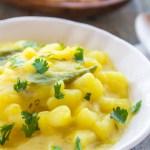 Easy Bengali Potato Curry | Shaada Aloor Torkari