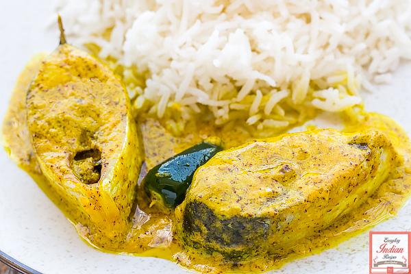 Shorshe Bhapa Ilish