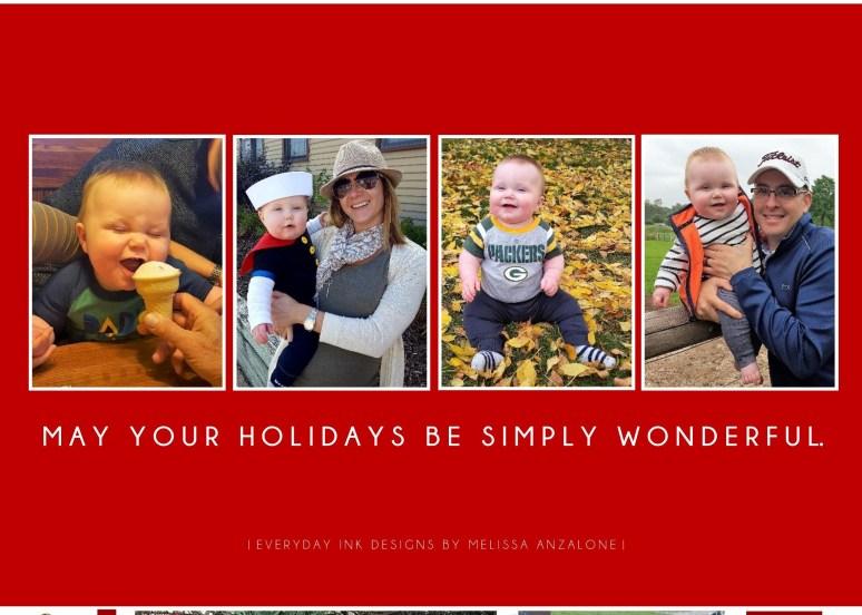 Joy | Holiday Card {back}