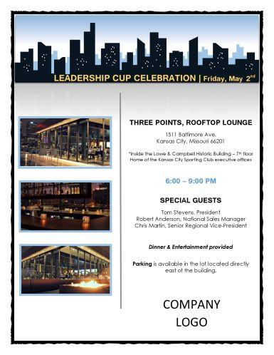 Corporate Event Invite