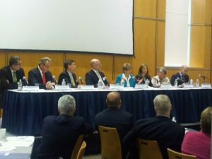Panel discussion at Empowering Health Care Consumers conference