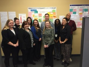 The PAS team used this Idea Board to improve its performance and employee engagement.