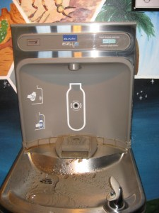 Public Water Bottle Filling Station