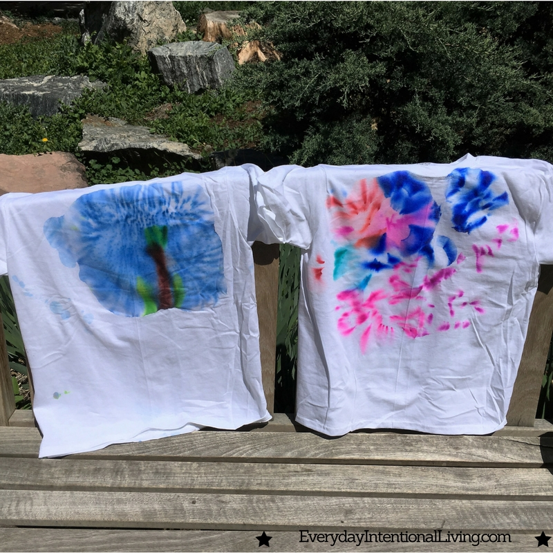 Super Easy Sharpie Tie Dye