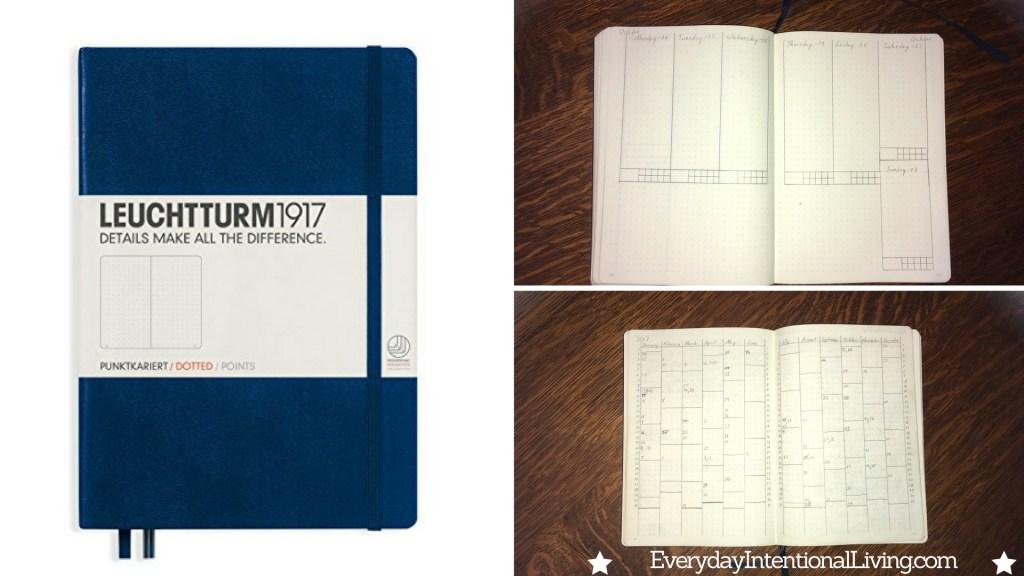 My Homemade Calendar Notebook