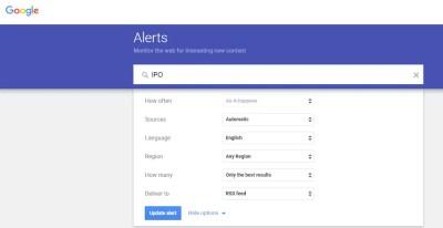 Google Alert