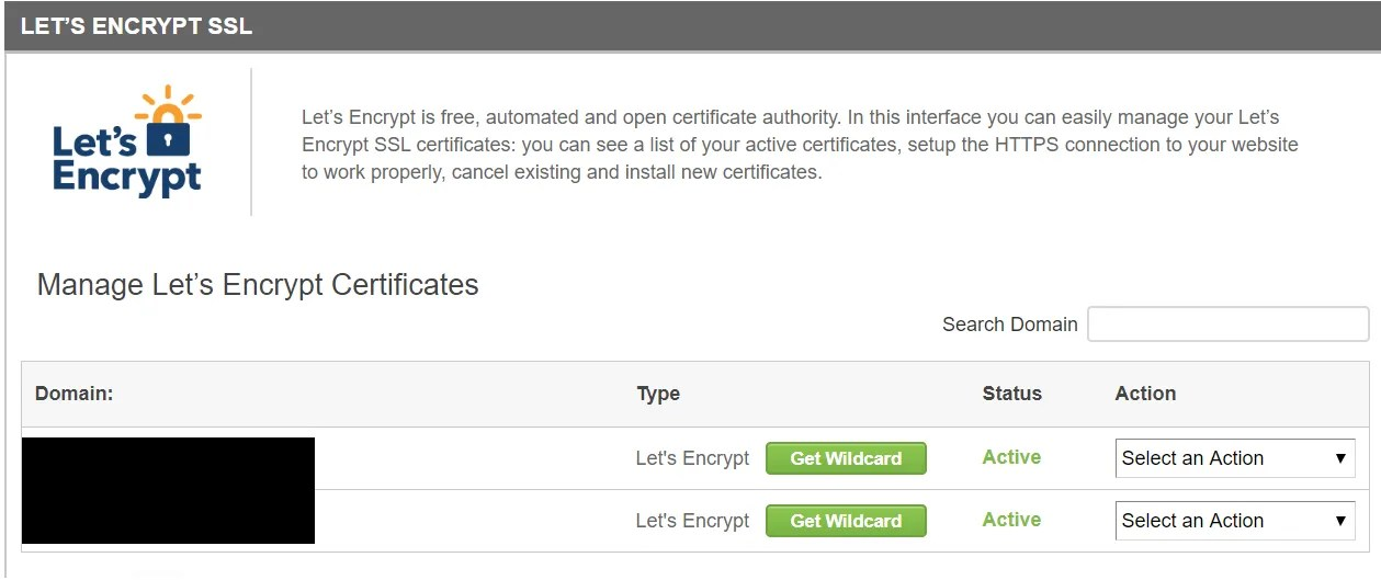 Let's Encrypt SSL for Siteground
