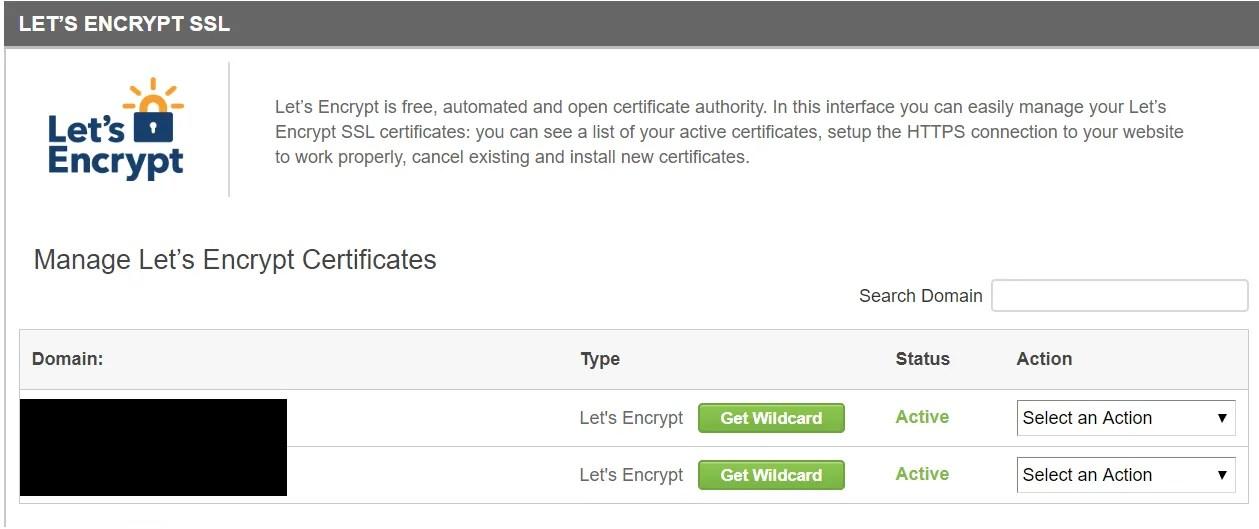 Let's Encrypt SSL for Siteground