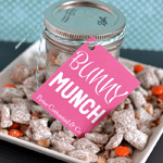 Bunny Munch Easter Tag Printable