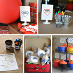 Free Party Printable - Create Your Own Superhero Birthday