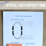 Official Tooth Deposit Form Printable