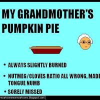 Grandmother's Pumpkin Pie