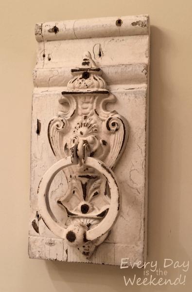 vintage door knocker l Southern Style