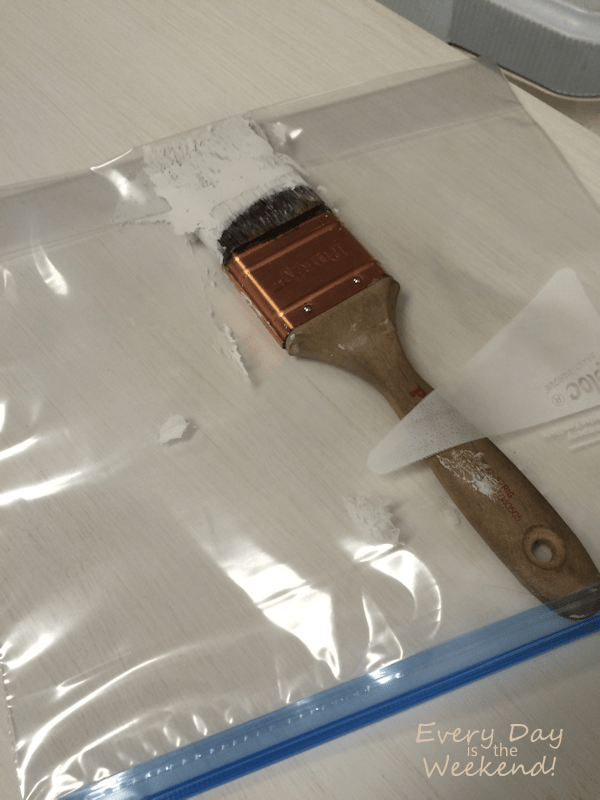 Every Day is the Weekend! l Oops! How NOT to Paint Your Furniture! l helpful paintbrush tip