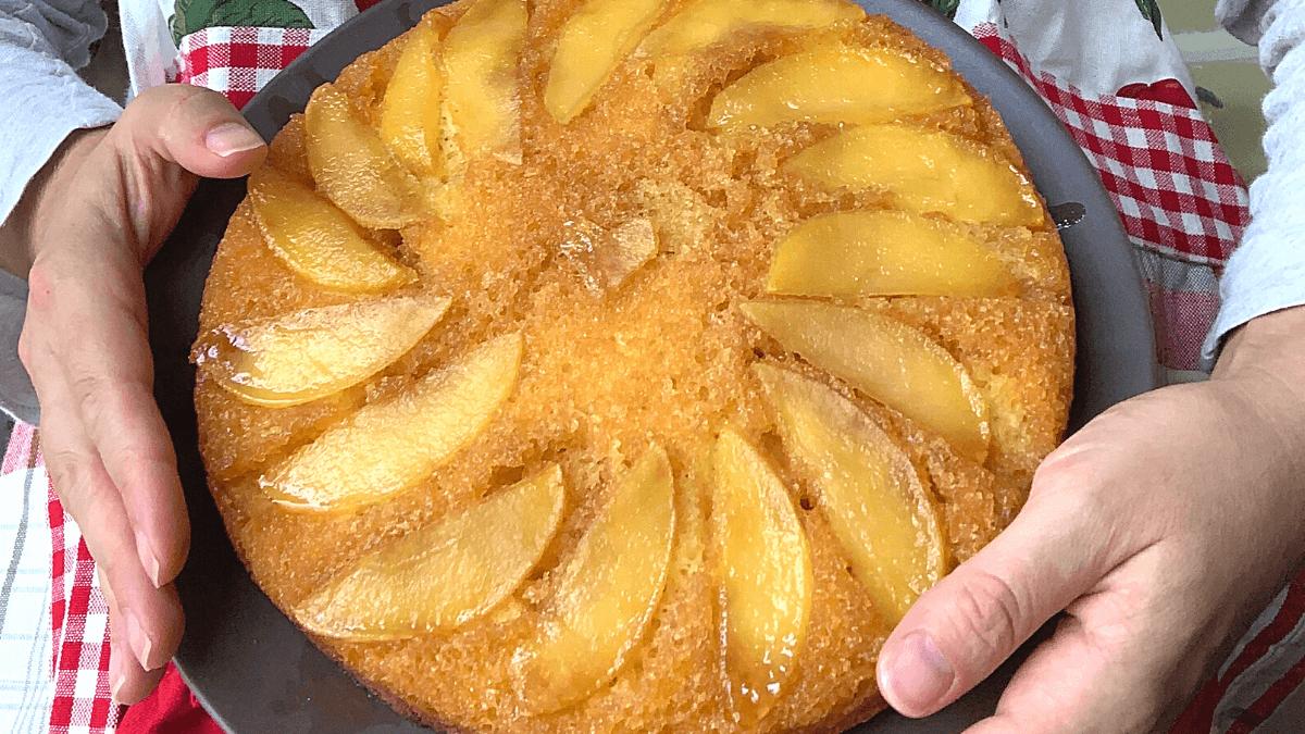 Apple Upside-Down Cake for Rosh Hashanah