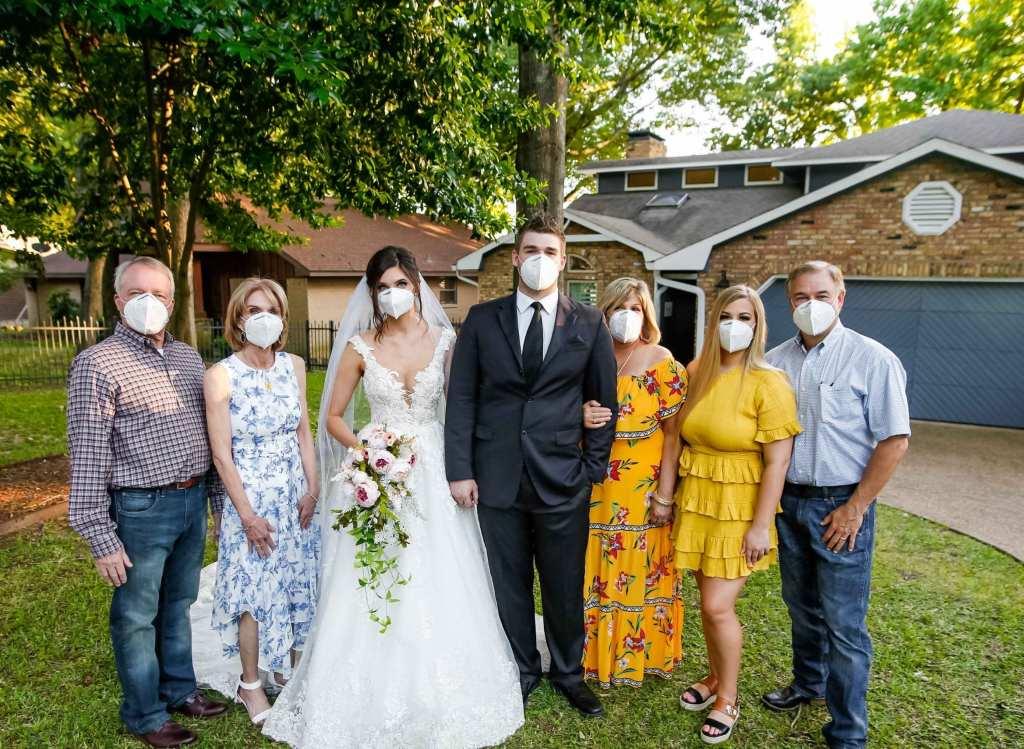 Coronavirus Virtual Wedding