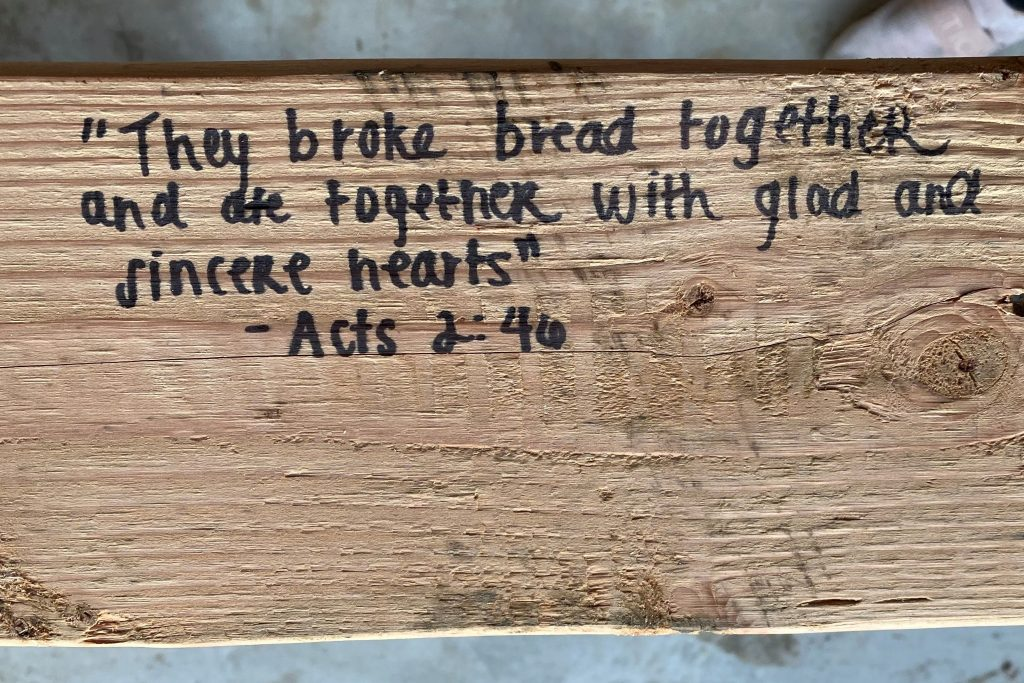 bible verse for the kitchen of our home