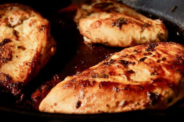 Whole30 Pan Seared Cilantro Lime Chicken #whole30pansearedchicken