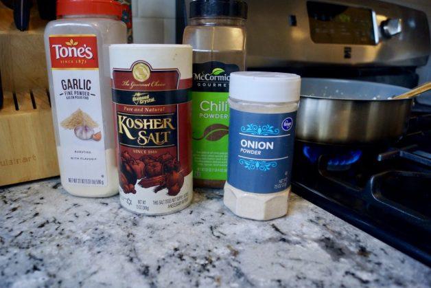 ingredients for cilantro cauliflower rice #cilantrocauliflowerrice