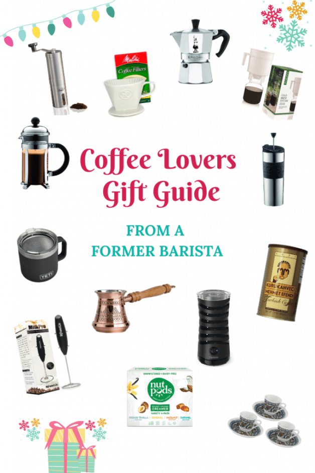 Coffee Lovers Gift Guide #coffeegiftguide