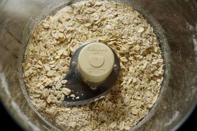 Ground oats