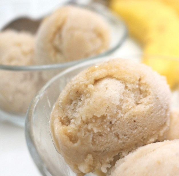 Ridiculously easy one-ingredient ice cream #bananaicecream #oneingredienticecream