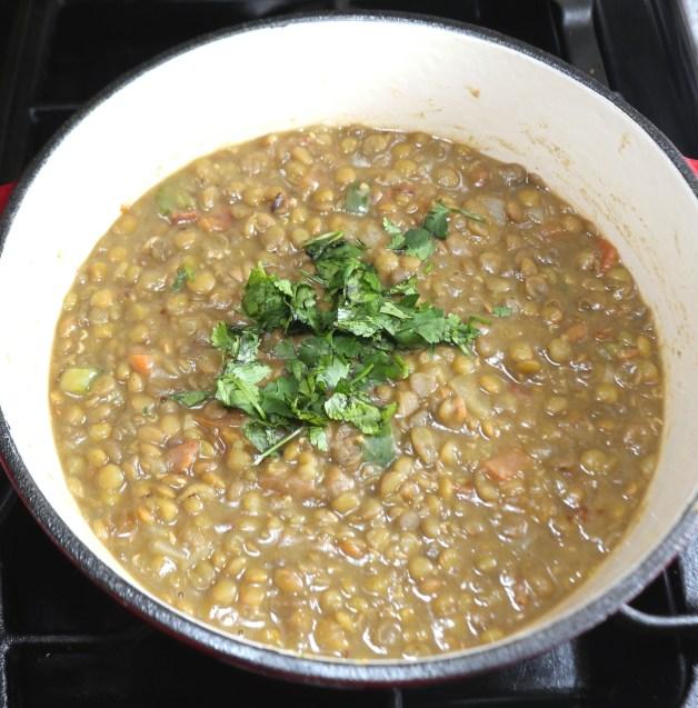 Instant Pot Jalapeño Bacon Lentils #lentils #mexicanlentilsoup
