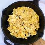 Simple potato and egg scramble (papas con huevo) #papasconhuevo #easybreakfast