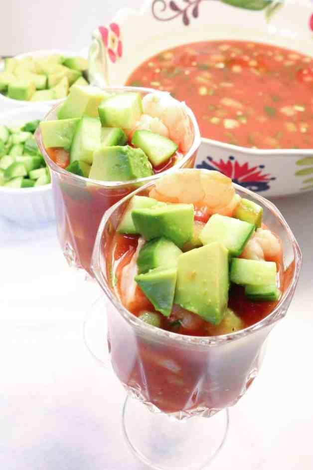 Coctel de Camarones (Mexican Shrimp Cocktail)