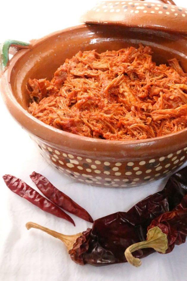 Chile Colorado with Shredded Pork #chilecoloradowithpork #chilecolorado #redchilewithpork #whole30recipes