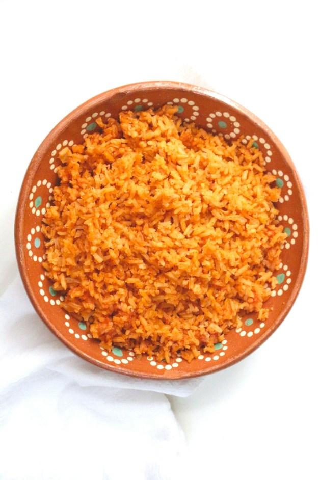 Arroz Rojo (Mexican Red Rice) #mexicanrice #arrozrojo #arrozmexicano