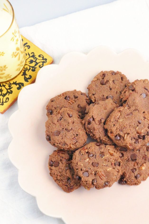 Double Chocolate Almond Flour Cookies